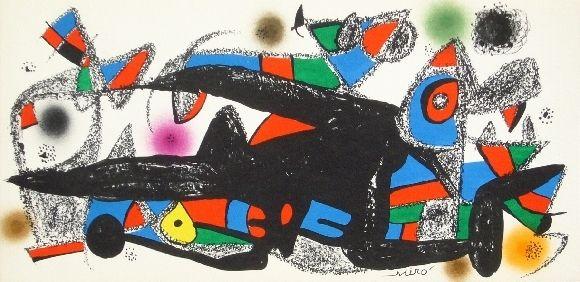 リトグラフ Miró - Miro sculpteur, Danemark