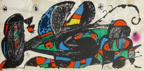 リトグラフ Miró - Miro sculpteur, Iran