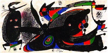 リトグラフ Miró - Miro Sculptor - England