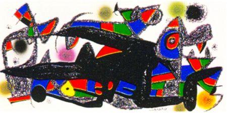 リトグラフ Miró -  Miro Sculptor -Denmark