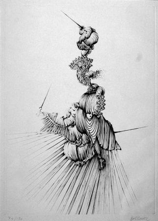 エッチング Bellmer - Miroir De Songes