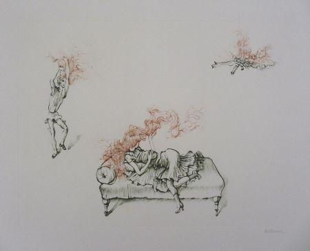 彫版 Bellmer - Miroir Des Songes Pl.12