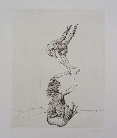 彫版 Bellmer - Miroir Des Songes Pl.6
