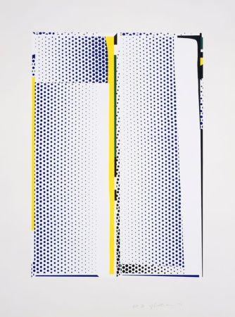 シルクスクリーン Lichtenstein - Mirror #9