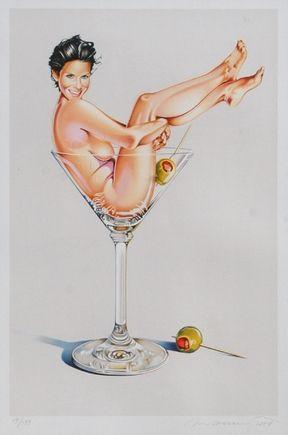 リトグラフ Ramos - Miss Martini Ii