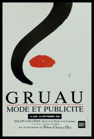 オフセット Gruau - MODE ET PUBLICITE PALAIS GALLIERA