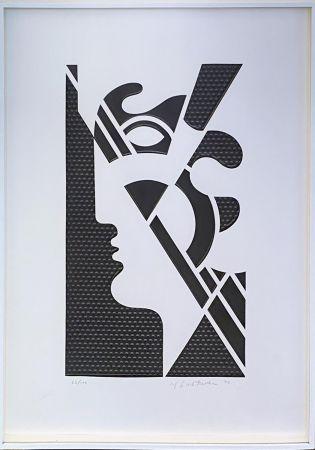 技術的なありません Lichtenstein - Modern Head #5