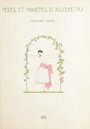 挿絵入り本 Marty - MODES ET MANIÈRES D'AUJOURD' HUI. Huitième Année. 1919