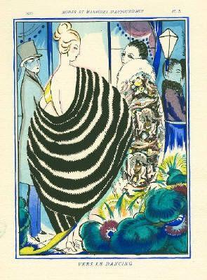 挿絵入り本 Bonfils - MODES ET MANIÈRES D'AUJOURD' HUI. Neuvième Année. 1920