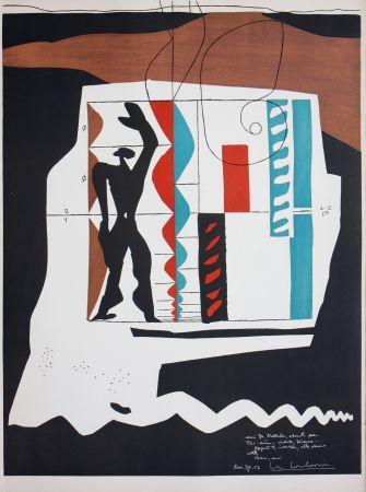 リトグラフ Le Corbusier - Modulor