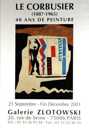 オフセット Le Corbusier - Modulor  Galerie  Zlotowski