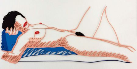 多数の Wesselmann - Monica lying on her back