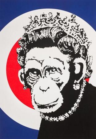 シルクスクリーン Banksy - Monkey Queen