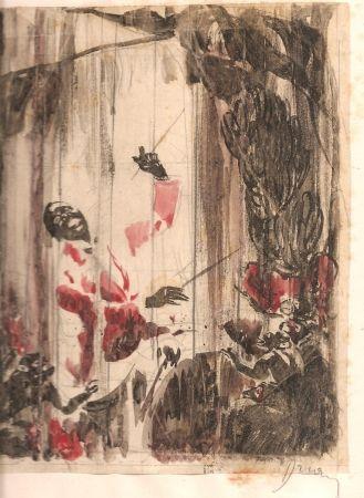 挿絵入り本 Drian - Monsieur de Bougrelon