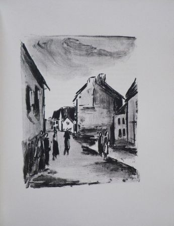 挿絵入り本 Vlaminck - Mont-Cinère.  Lithographies de Vlaminck.