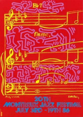 オフセット Haring - Montreux Jazz Festival 1986