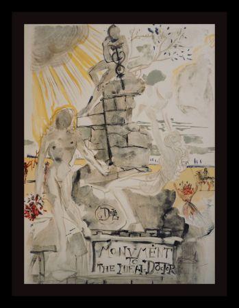 リトグラフ Dali - Monument To The Ideal Doctor