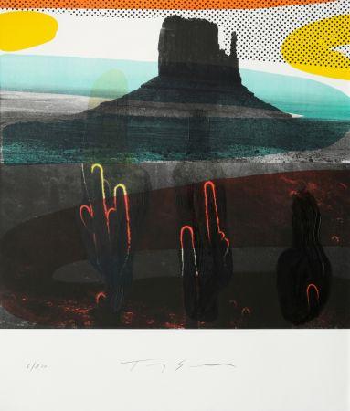 リトグラフ Soulie - Monument Valley I I