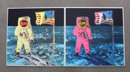シルクスクリーン Warhol - Moonwalk, Full Suite