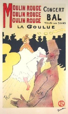 リトグラフ Toulouse-Lautrec - Moulin rouge