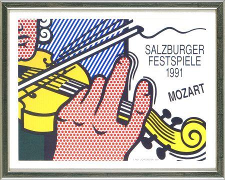 リトグラフ Lichtenstein - Mozart - Salzburg