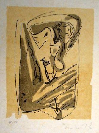 リトグラフ Van Velde - Mp 185