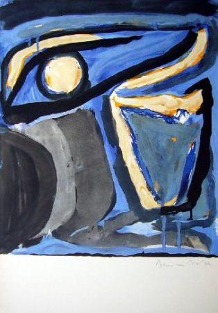 リトグラフ Van Velde - MP 65 -Musée national d'Art moderne