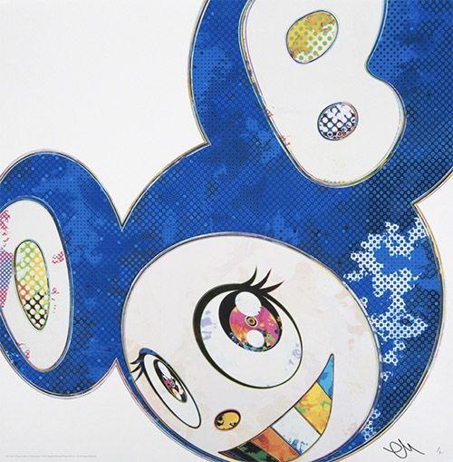 オフセット Murakami - Mr DOB Blue – And Then Ultramarine