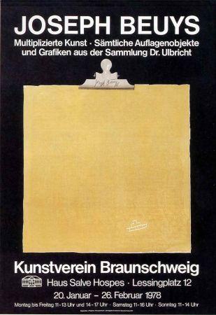 オフセット Beuys - Multiplizierte kunst