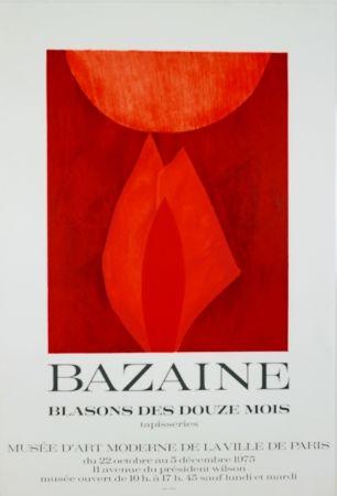 リトグラフ Bazaine - Musée D'Art Moderne de Paris