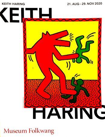 掲示 Haring -  Musée Folkwang de ESSEN