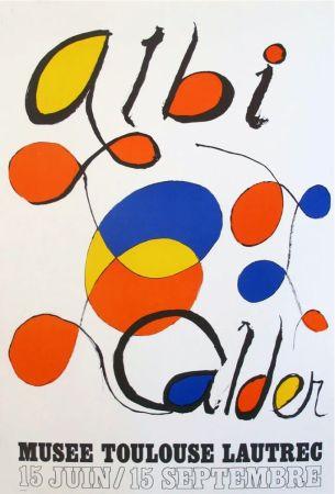 リトグラフ Calder - '' Musée Toulouse Lautrec ''