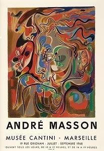 リトグラフ Masson - Musee Cantini, Mourlot