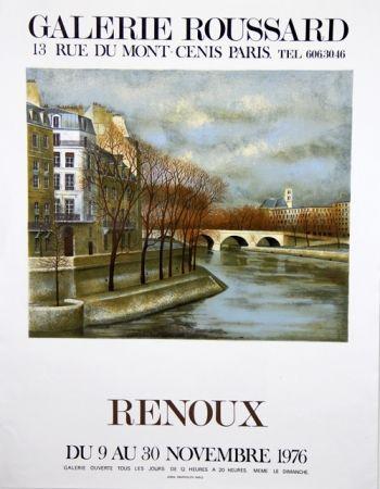 リトグラフ Renoux - Musee du Luxembourg