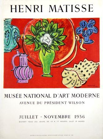 リトグラフ Matisse - Musee Natianal D'art Moderne