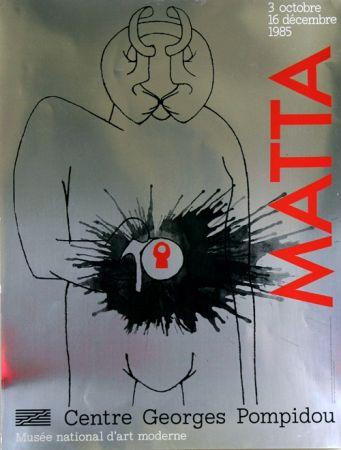 オフセット Matta - Musee National D'art Moderne