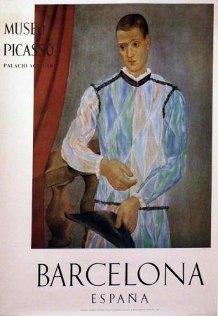 掲示 Picasso - '' Museo Barcelona ''
