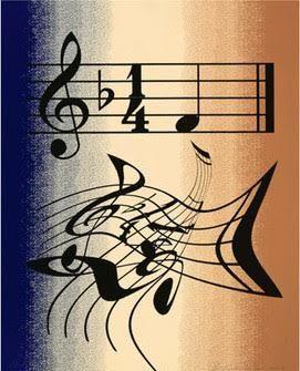 リトグラフ Ruscha - Music