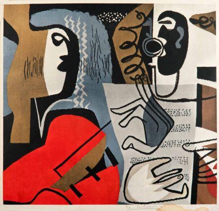 オフセット Le Corbusier - Musiciennes (hand-signed)