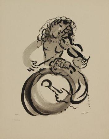 リトグラフ Chagall - MUSIQUE
