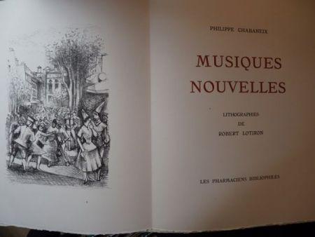 挿絵入り本 Lotiron - Musiques nouvelles