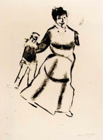 ポイントーセッシュ Chagall - Mutter Und Sohn