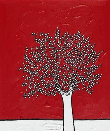 リトグラフ Scott - My red sky