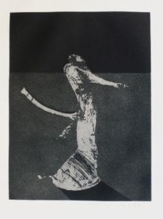 彫版 Scholder - Mystery Portrait in Barcelona 1