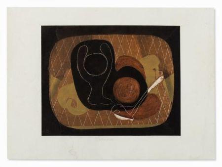 ステンシル Braque - NATURE MORTE, 1931-1933