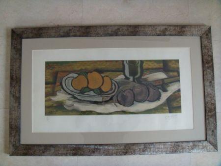 多数の Braque - Nature Morte Aux Fruits