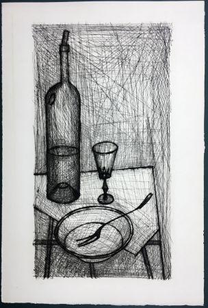 エッチング Buffet - Nature morte pour Recherche de la Purété (1953)