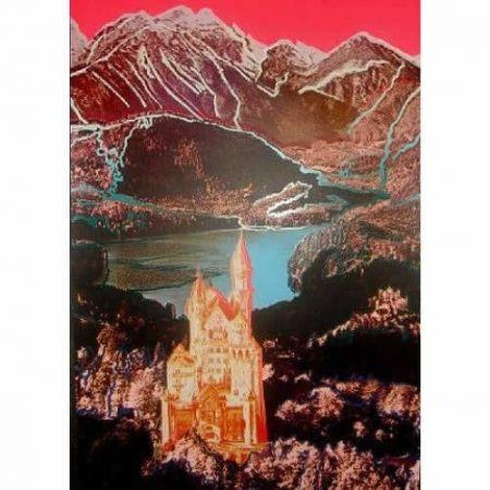 シルクスクリーン Warhol - Neuschwanstein