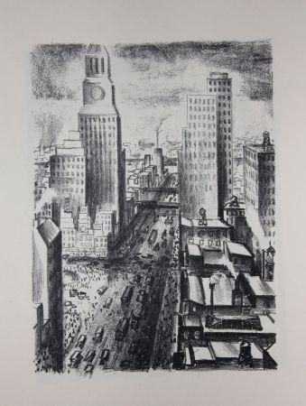 リトグラフ Lubbers - NEW-YORK