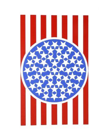 シルクスクリーン Indiana - New glory banner